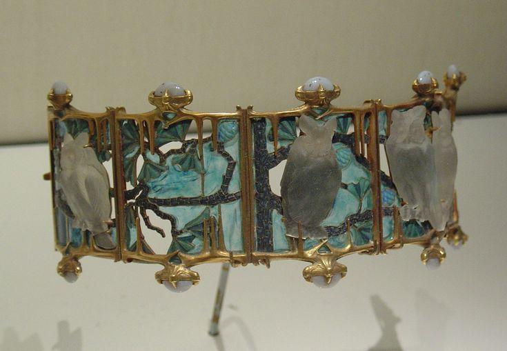 art nouveau jewellery rene lalique - Google Search