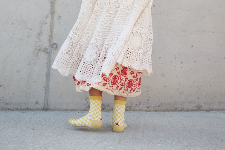 Calcetines Hop Socks. Spike Flower Yellow. www.hopsocks.com Foto M.S.T