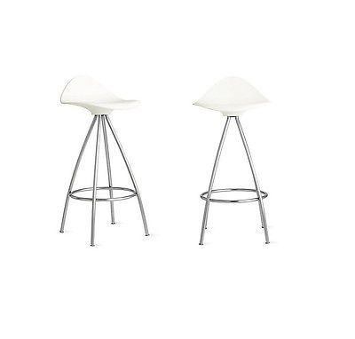 onda counter stool white set of 2 modern dwr design within reach modern  sc 1 st  bolotbochkarev.com & Dwr Bar Stools. Era Barstool White Set Of 2 Dwr Exclusive Design ... islam-shia.org