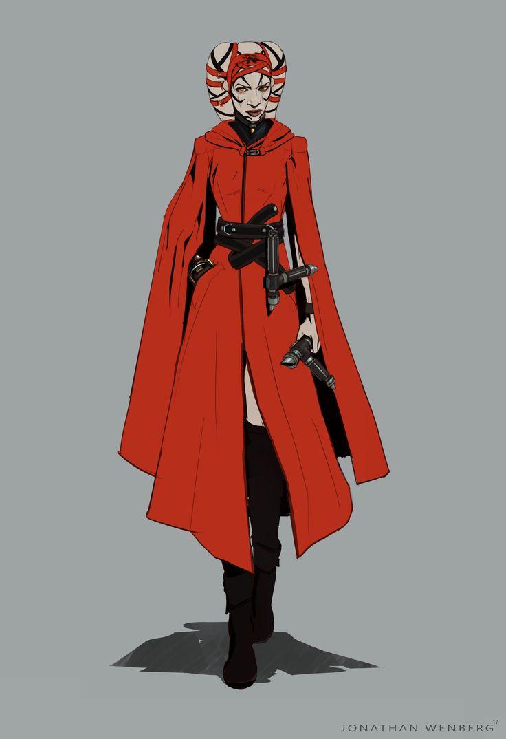 ArtStation - Sith Apprentice , Jonathan Wenberg