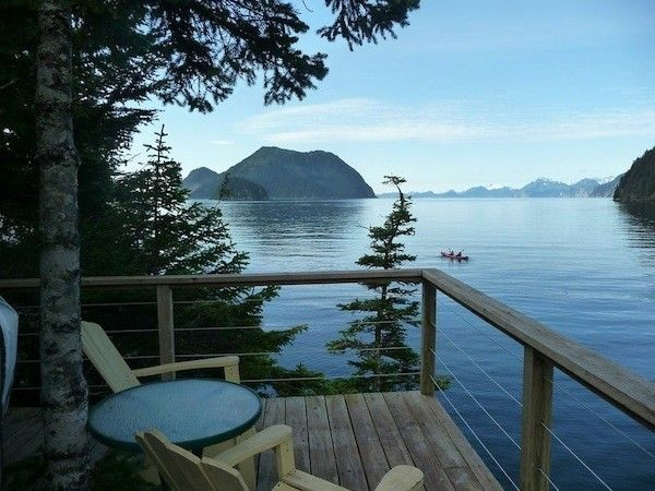 SEWARD, Alaska – It's gorgeous, it's swank, it's totally eco. Orca Island Cabins turn temporary indigenous lodgings into a secluded retreat on the Pacific.