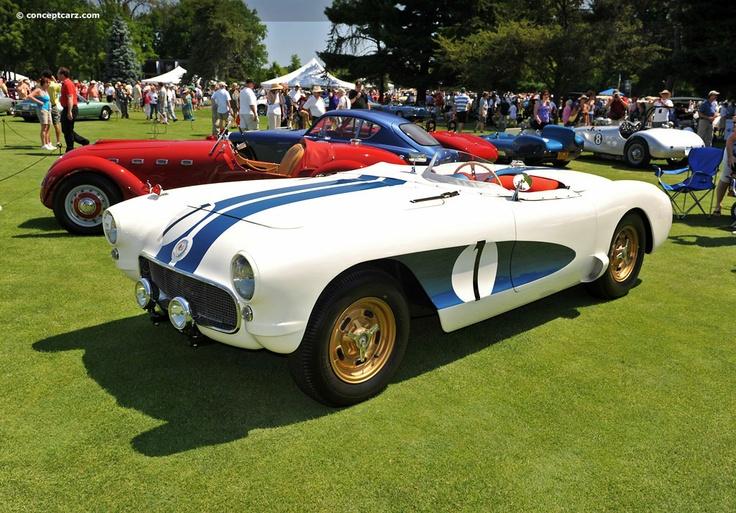 """1956 Sebring Corvette Racer - """"The Real McCoy"""""""