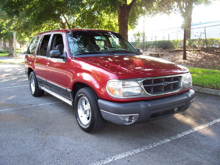 Hunter's Vehicle  red 2000 ford explorer - Google Search