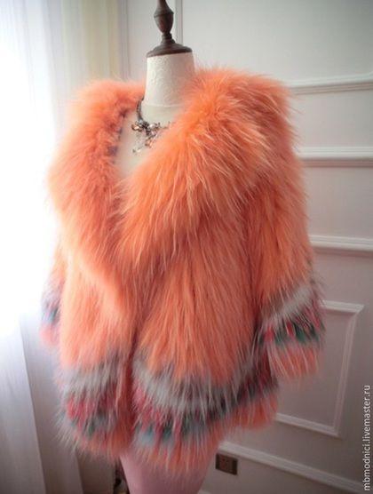 Верхняя одежда ручной работы. Ярмарка Мастеров - ручная работа. Купить Шубка лисья. Handmade. Разноцветный, шуба, лиса, лиса