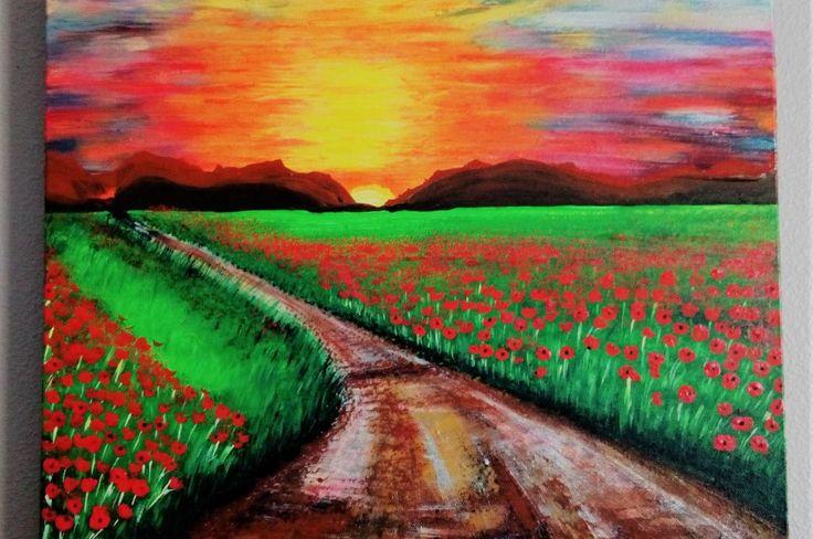 Poppy Field Road by Karen M Crosby