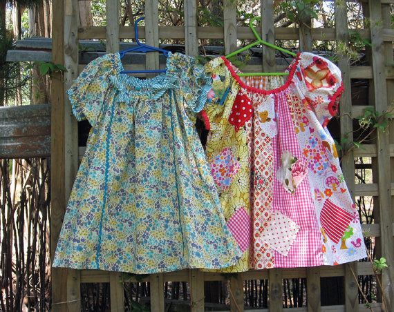 Sweet Pea Girl's  Dress PDF Sewing Pattern by FelicityPatterns, $7.95