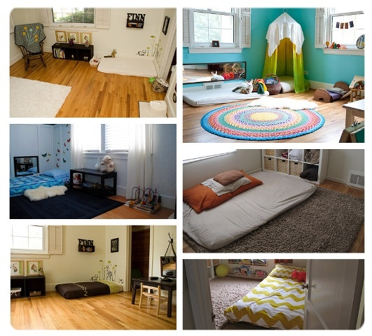 43 best images about habitaciones montessori on pinterest for Cuarto montessori