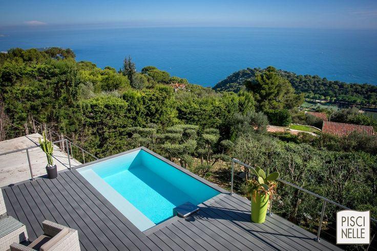 10 best reportage photo une piscine dans la turbie for Architecture qui se fond dans le paysage