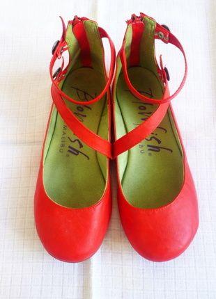 Kupuj mé předměty na #vinted http://www.vinted.cz/damske-boty/baleriny/11895160-stylove-cervene-baleriny-blowfish-vel-38