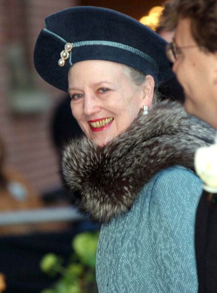 Queen Margrethe, February 2, 2002