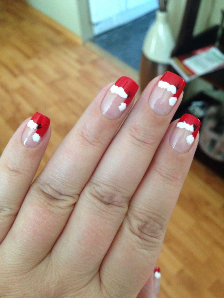 Yah santa nails!!!