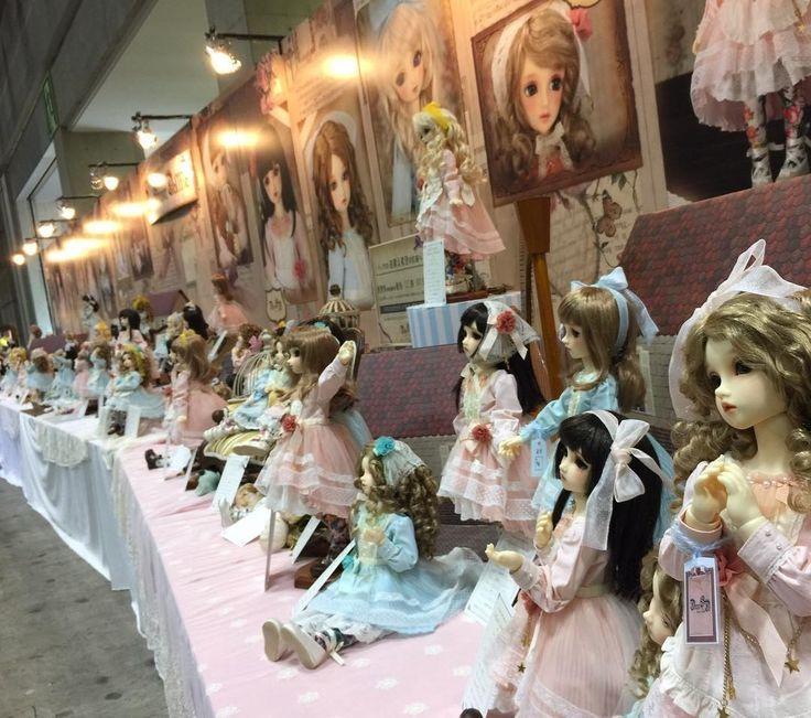ドルパ37 in ジョイフェス5会場より  リアルタイムレポート中!!  #hobby #superdollfie #dollfie #volksdoll #bjd #dollsparty   #live_report #japan #Tokyo #東京   #ドルパ #レポート #ドルパ_ディーラー #スーパードルフィー #ドルフィードリーム