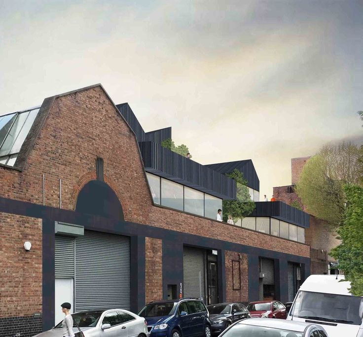 Planning submitted for new office and residential floors over an existing   Victorian warehouse in Acton, London.