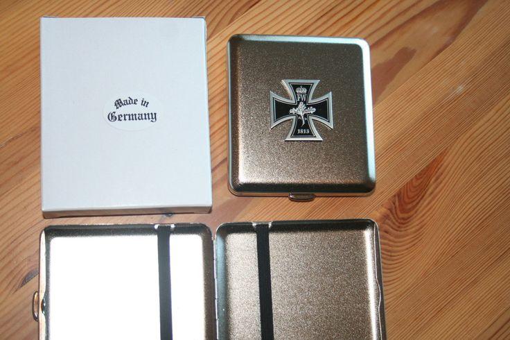 Zigaretten Etui Kaiserreich Eisernes Kreuz mit Eichenlaub 1813 NEU | eBay