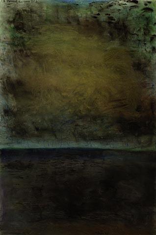 "Colin McCahon ""A Poem of Kaipara Flat"""