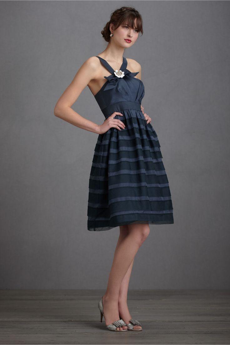 Shadow stripe dress from bhldn women 39 s apparel for Striped bridesmaid dresses wedding