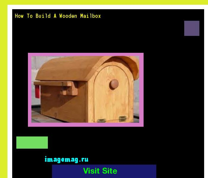 How To Build A Wooden Mailbox 140232 - The Best Image Search