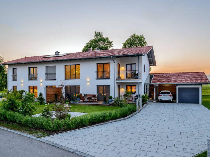 Die besten 25 doppelhaus grundriss ideen auf pinterest for Minimalistisches haus grundriss