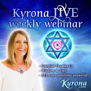 "Join the next KYRONA LIVE ""Thumbs-Up"" + Q&A Weekly Webinar!"