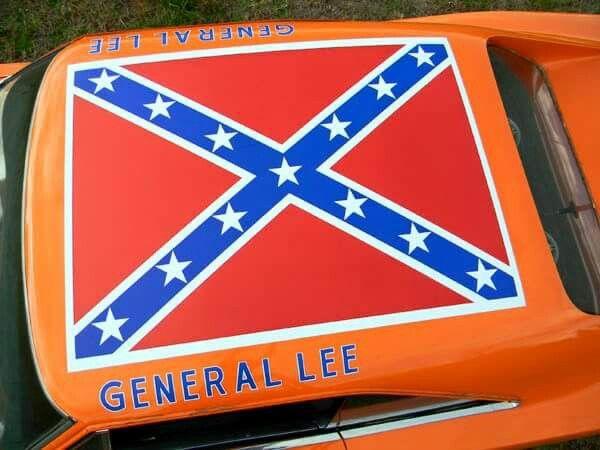 General Lee Car Top