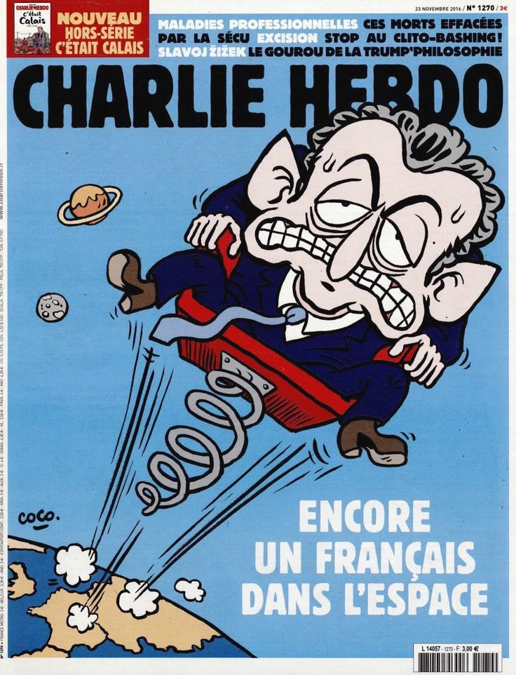 Charlie Hebdo - # 1270 - Mercredi 23 Novembre 2016 - Couverture : Coco