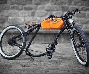 Oto Cycles Vintage Electric Motor Bike