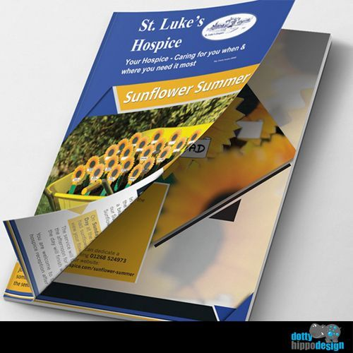 Brochure design for St. Luke's Hospice