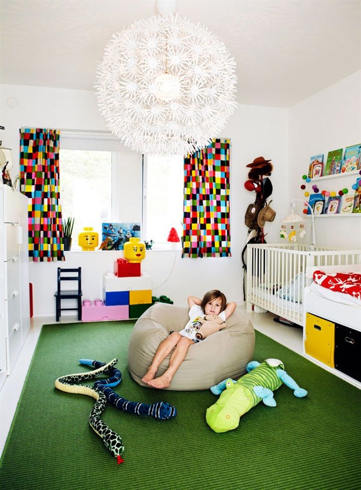 The kid's room is perfect here!!!
