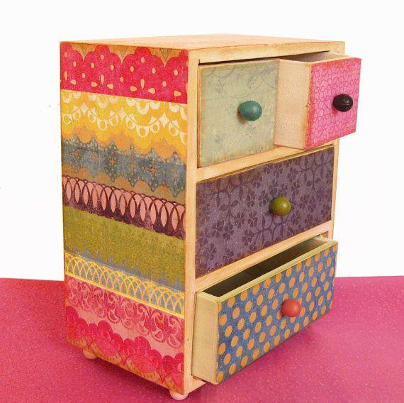 Adivino las niñas joyas caja personalizada