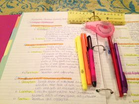 The Preppy Graduate: School Organization: Note Taking