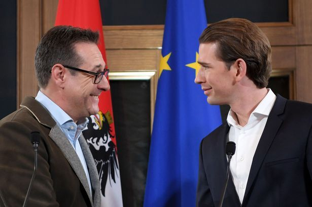 Conservative Sebastian Kurz has become the youngest head of state in Europe