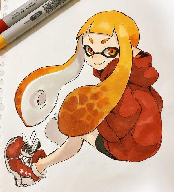 #Splatoon #Dessin HAGIYA Kaoru #FeutreàAlcool #CopicCiao #JeuxVideo #Manga #Nintendo