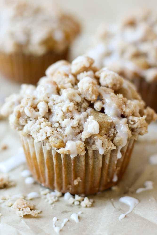 Coffee crumb muffins