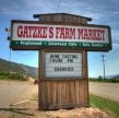 Gatzke's Farm Market, right on the highway between Vernon & Kelowna