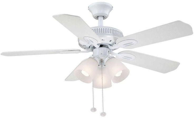 116 mejores imgenes de ceiling fans en pinterest ventiladores de white small room ceiling fan w light kit aloadofball Image collections