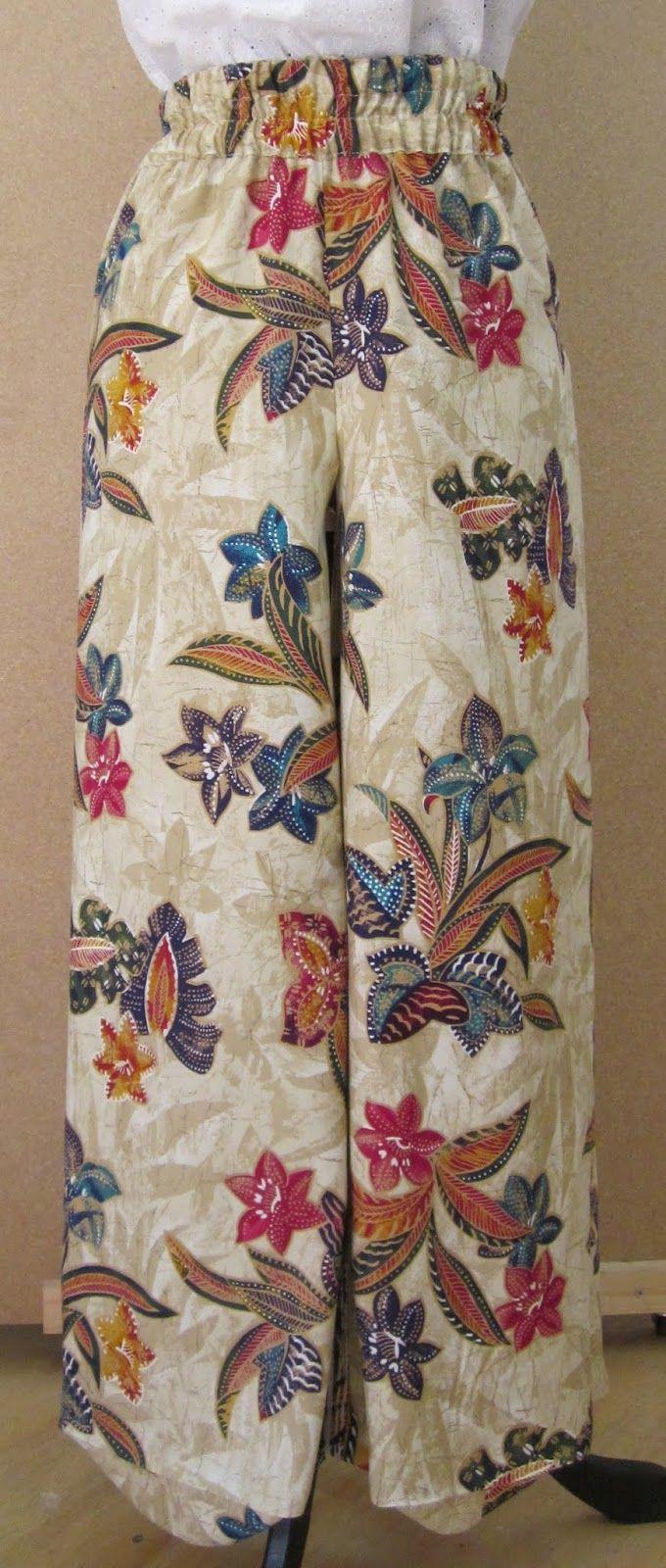 como hacer pantalón de pijama ancho con elástico en la cintura