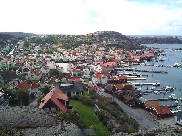 View from Korpåsberget, Bovallstrand
