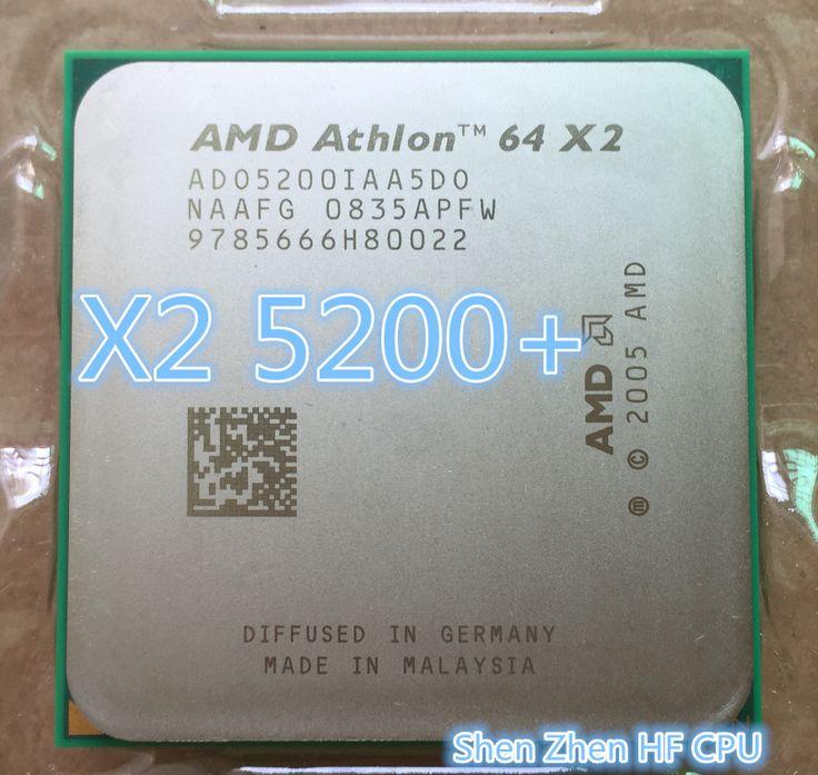 AMD Athlon 64 X2 5200+ 5200 2.7Ghz 1MB Cache AM2 socket 940 pin Dual core CPU processor (working 100% Free Shipping)