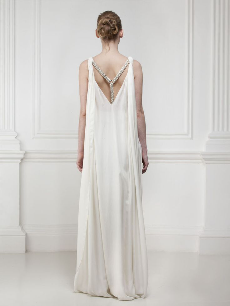 I could imagine this being worn by a Greek goddess. (by Matthew Williamson)