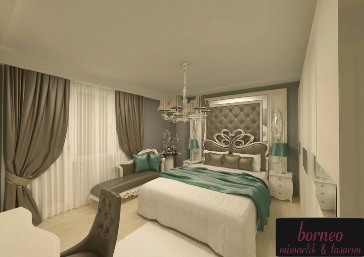 bedroom İç mimar Meral Akçay