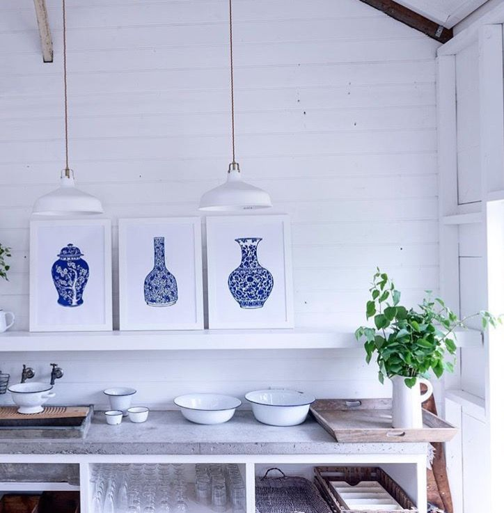 Love seeing my work in this photo shoot for #thearthousecollective ... these large lino prints will be available through them exclusively when they launch in late January...