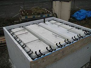 12 best green roofs icfs images on pinterest green for Icf concrete roof