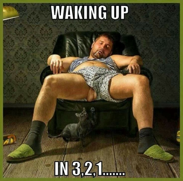 Waking up... in ... 3... 2.... 1.... Jb