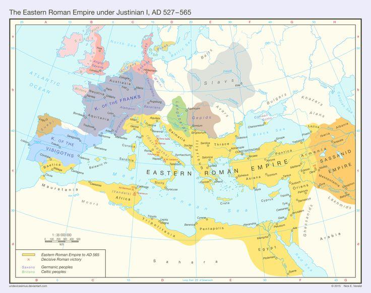 The Eastern Roman Empire (AD 527 - 565)
