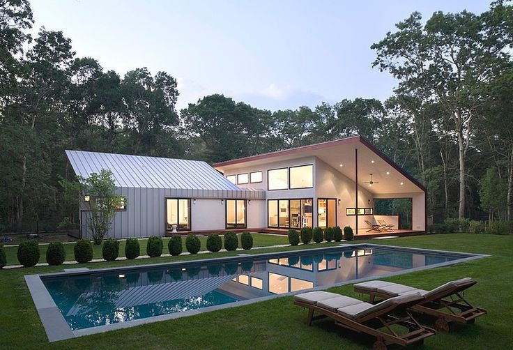 East Hampton House by Eisner Design