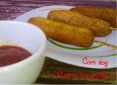 #corndog #ricettaamericana #ricettetraamiche