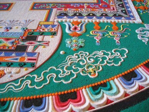 exploriment:  A Tibetan sand mandala that came to Hamilton in...