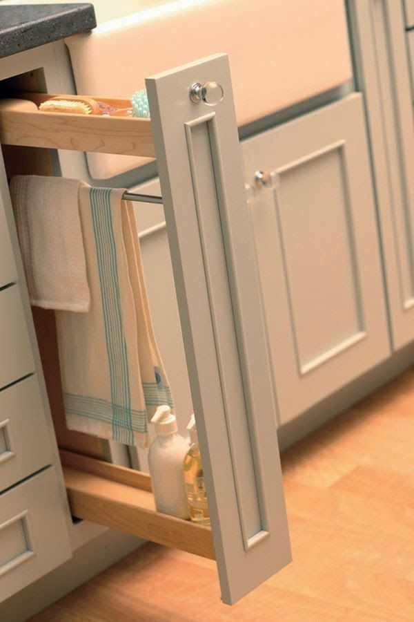 Michelle - Blog #Dead #space in the #kitchen Fonte : http://cdn.homedit.com/easy-quick-cleaning-tips-for-the-kitchen-part-1/