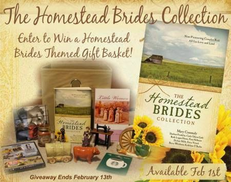 The Homestead Brides Collection Themed Gift Basket GIVEAWAY and 9 Author Blog Tour!