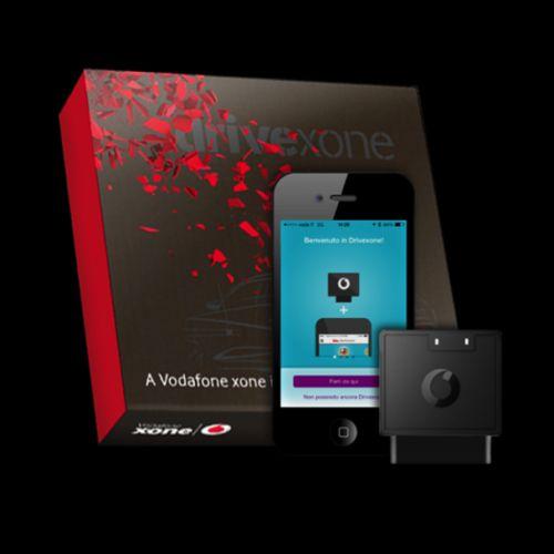 Wow! Con Vodafone #drivexone posso monitorare la mia #auto da remoto via OBD interfacciandomi con l'app#ad